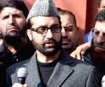 Mirwaiz expects Pakistan to help end 'repression' in Kashmir