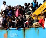LIBYA MISRATA ILLEGAL IMMIGRANTS