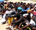 LIBYA MISRATA ILLEGAL IMMIGRANTS