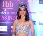 Manushi Chillar shared a glimpse of her character Sanyogita on Instagram