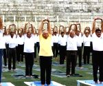 Yoga events held in Mizoram, Tripura