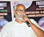 MM Keeravani USA Concert Pressmeet
