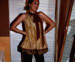 Model at Lakme Fashion Week Fittings.