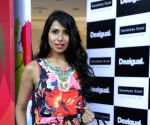 Candice Pinto at the launch of the brand 'Desigual' shop-in-shop