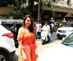 Waluscha de Sousa seen in Bandra