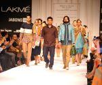 Lakme Fashion Week Winter/ Festive 2014 - Sayantan Sarkar
