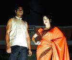 Indian Handwoven Textiles fashion show