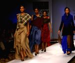 Models on the ramp for Designer Anjana Bhargav at Wills Lifestyle India Fashion Week 2009 in New Delhi on March 22.