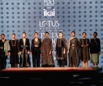 Models showcase Ragini Ahuja's creations on Day 1 of Lotus India Fashion Week