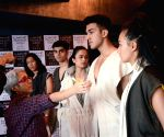 Models at fitting session for Lakme Fashion Week