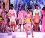 Lotus Make-up India Fashion Week - Grand finale