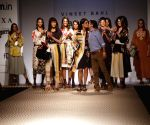 Designer Vineet Bahl at Amazon India Fashion Week Summer Spring,