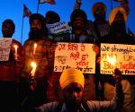 Candle light vigil for Moga victim