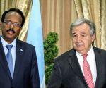 SOMALIA MOGADISHU UN SECRETARY GENGERAL EMERGENCY VISIT