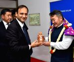 Mongolian President visits Cell and Module manufacturing facility of Tata Power Solar