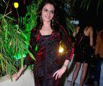 Monica Bedi at Sheesha Sky Lounge at D Ultimate Club in Mumbai.