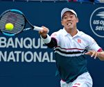 Japanese tennis player Nishikori splits with coach Bottini