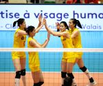 SWITZERLAND MONTREUX VOLLEYBALL MASTERS WOMEN TUR VS CHN