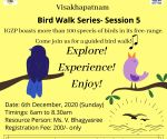 More bird walks in Vizag Zoo as initiative gets good response