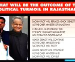 More than 1/3rd say Raj Cong govt will collapse, BJP to return: IANS CVoter snap poll