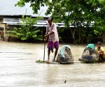 Assam flood deteriorates, affects 2.25 lakh people in 9 districts