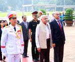 Hanoi (Vietnam): M.J. Akbar visits Ho Chi Minh Mausoleum