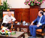 Hanoi (Vietnam): M.J. Akbar meets Vietnam's Vice Foreign Minister