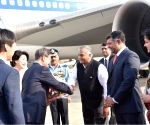 South Korean President arrives in India