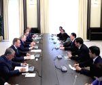 RUSSIA MOSCOW ZHANG GAOLI PUTIN MEET