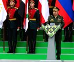 RUSSIA MOSCOW ARMY GAMES OPENING