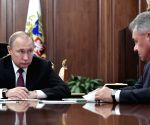 RUSSIA MOSCOW PUTIN MEETING MISSILES