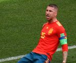 Spain's injured captain Ramos leaves team, to undergo medical review