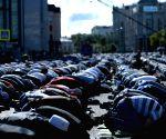 RUSSIA MOSCOW EID AL FITR PRAYER
