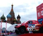 RUSSIA MOSCOW SILK ROAD RALLY START