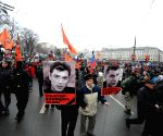 RUSSIA MOSCOW RALLY NEMTSOV