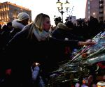 RUSSIA MOSCOW KEMEROVO FIRE MOURNING