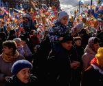 RUSSIA MOSCOW MASLENITSA CELEBRATION