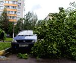 RUSSIA MOSCOW STORM