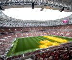 RUSSIA MOSCOW LUZHNIKI WORLD CUP STADIUM