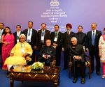 Moscow (Russia): President Mukherjee attends  Indian Community reception