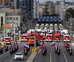RUSSIA-MOSCOW-MUNICIPAL SERVICE VEHICLE PARADE