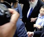 Moshe Holtzberg visits Nariman House