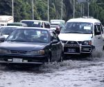 Dhaka (Bangladesh): Traffic congestion due rains