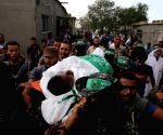 MIDEAST GAZA FUNERAL