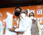 Free Photo: MP Congress MLA resigns and joins BJP