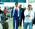 Rohit Khandelwal at Shamshabad Airport