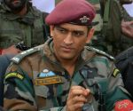 M.S. Dhoni concludes stint with Territorial Army
