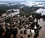 Rescue and relief operation at flood hit areas