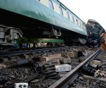 PAKISTAN MULTAN TRAIN ACCIDENT