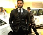 Abhishek Bachchan at 60th Britannia Filmfare Awards Press Meet